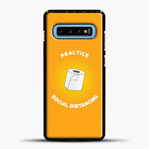 Quarantine 2020 Samsung Galaxy S10 Case