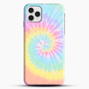 Rainbow Tie Dye iPhone 11 Pro Case, Black Snap 3D Case | JoeYellow.com