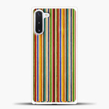 Load image into Gallery viewer, Recycled Skateboard Rainbow Texture Samsung Galaxy Note 10 Case