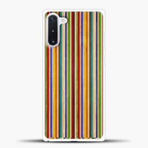 Recycled Skateboard Rainbow Texture Samsung Galaxy Note 10 Case