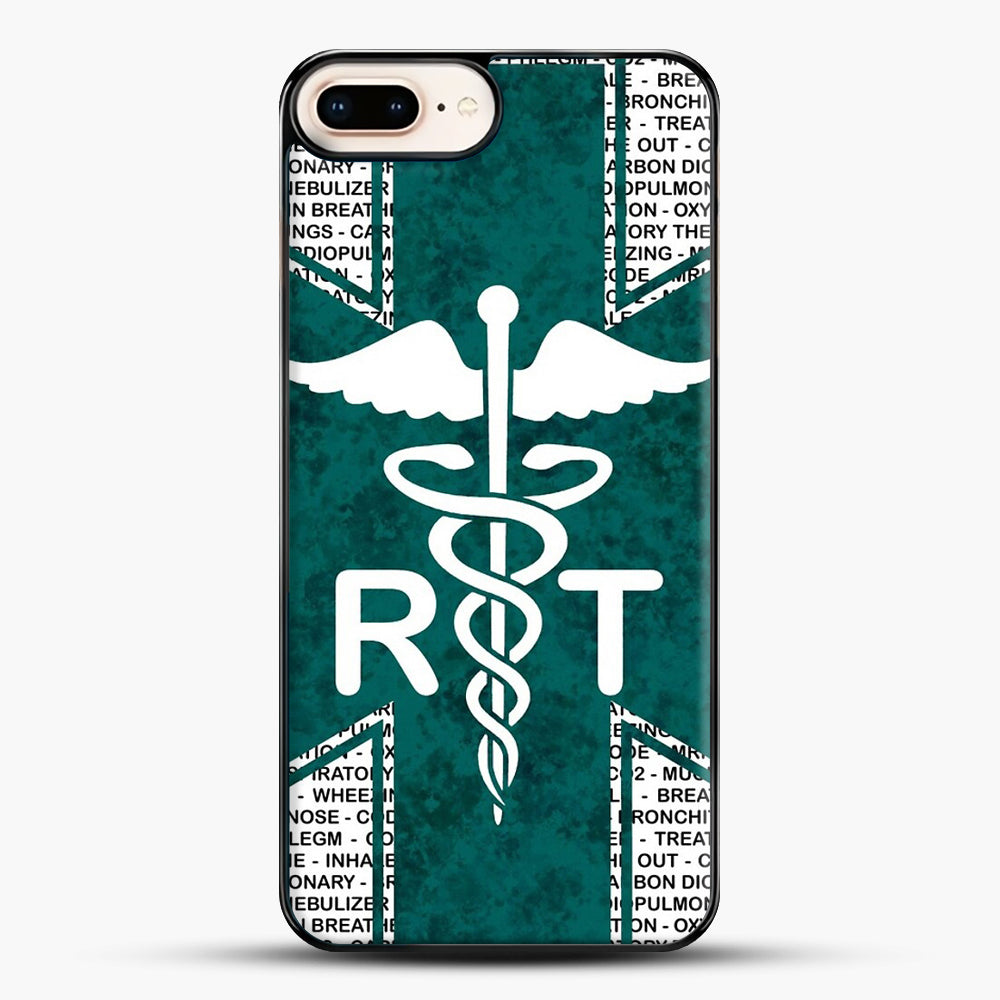 Respiratory Therapy iPhone 7 Plus Case, Black Plastic Case | JoeYellow.com