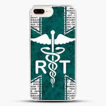 Load image into Gallery viewer, Respiratory Therapy iPhone 7 Plus Case, White Plastic Case | JoeYellow.com