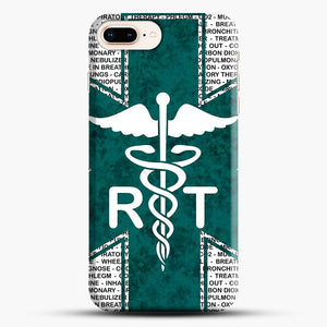 Respiratory Therapy iPhone 7 Plus Case, Black Snap 3D Case | JoeYellow.com