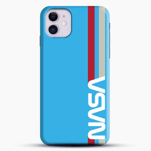 Retro Nasa iPhone 11 Case, Black Snap 3D Case | JoeYellow.com