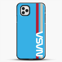 Load image into Gallery viewer, Retro Nasa iPhone 11 Pro Case, Black Plastic Case | JoeYellow.com
