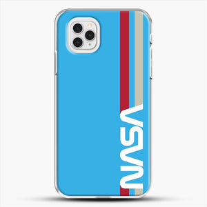 Retro Nasa iPhone 11 Pro Case, White Plastic Case | JoeYellow.com