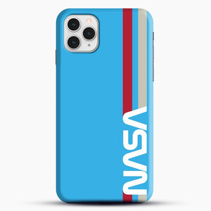 Retro Nasa iPhone 11 Pro Case, Black Snap 3D Case | JoeYellow.com