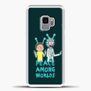 Rick and Morty Peace Among Worlds Samsung Galaxy S9 Case