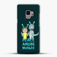 Load image into Gallery viewer, Rick and Morty Peace Among Worlds Samsung Galaxy S9 Case