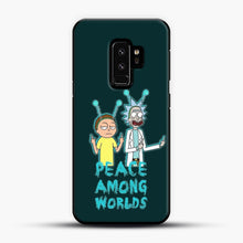 Load image into Gallery viewer, Rick and Morty Peace Among Worlds Samsung Galaxy S9 Plus Case