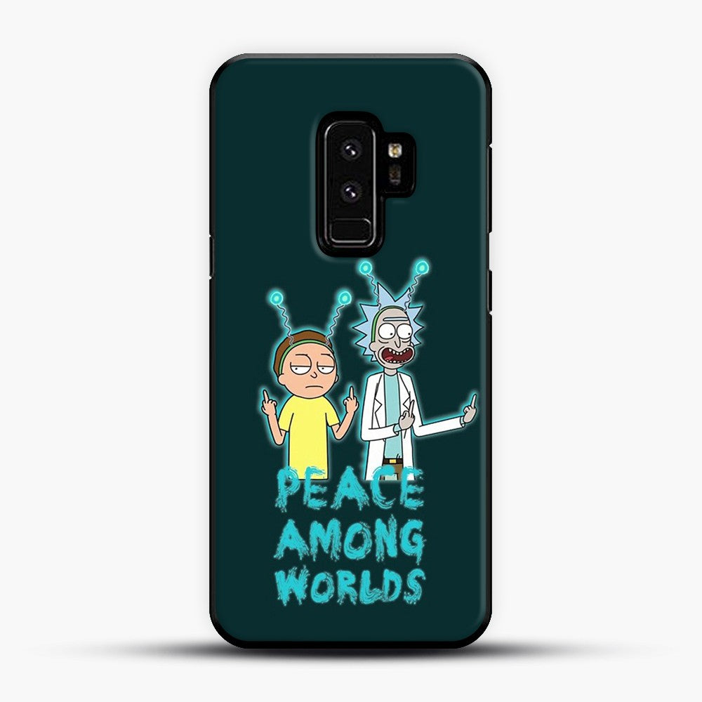 Rick and Morty Peace Among Worlds Samsung Galaxy S9 Plus Case