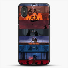Load image into Gallery viewer, Sw 1 8 iPhone XS Max Case, Black Plastic Case | JoeYellow.com