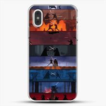 Load image into Gallery viewer, Sw 1 8 iPhone XS Max Case, White Plastic Case | JoeYellow.com