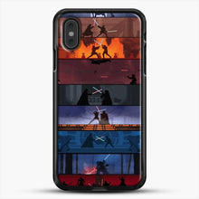 Load image into Gallery viewer, Sw 1 8 iPhone XS Max Case, Black Rubber Case | JoeYellow.com