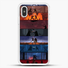 Load image into Gallery viewer, Sw 1 8 iPhone XS Max Case, White Rubber Case | JoeYellow.com