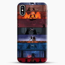 Load image into Gallery viewer, Sw 1 8 iPhone XS Max Case, Black Snap 3D Case | JoeYellow.com