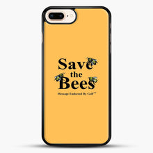 Load image into Gallery viewer, Save The Bees Golf iPhone 8 Plus Case, Black Rubber Case | JoeYellow.com