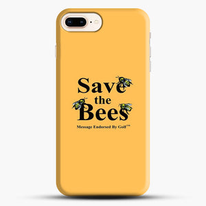 Save The Bees Golf iPhone 8 Plus Case, Black Snap 3D Case | JoeYellow.com