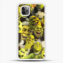 Load image into Gallery viewer, Shrek Collage iPhone 11 Pro Max Case, White Rubber Case | JoeYellow.com