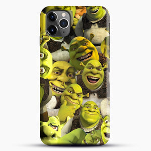 Shrek Collage iPhone 11 Pro Max Case, Black Snap 3D Case | JoeYellow.com