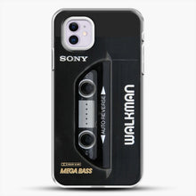 Load image into Gallery viewer, Sony Walkman iPhone 11 Case, White Plastic Case | JoeYellow.com