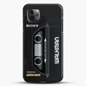Sony Walkman iPhone 11 Pro Max Case, Black Plastic Case | JoeYellow.com