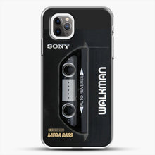 Load image into Gallery viewer, Sony Walkman iPhone 11 Pro Max Case, White Plastic Case | JoeYellow.com