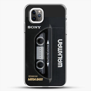 Sony Walkman iPhone 11 Pro Max Case, White Plastic Case | JoeYellow.com