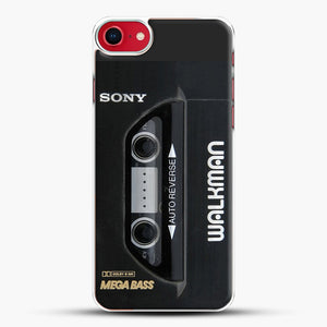 Sony Walkman iPhone 7 Case, White Plastic Case | JoeYellow.com