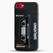 Load image into Gallery viewer, Sony Walkman iPhone 7 Case, Black Snap 3D Case | JoeYellow.com