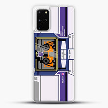 Load image into Gallery viewer, Soundwave Samsung Galaxy S20 Plus Case, White Plastic Case | JoeYellow.com