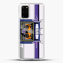 Load image into Gallery viewer, Soundwave Samsung Galaxy S20 Plus Case, White Rubber Case | JoeYellow.com