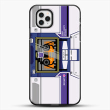 Load image into Gallery viewer, Soundwave iPhone 11 Pro Case, Black Plastic Case | JoeYellow.com
