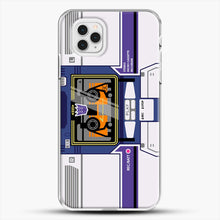 Load image into Gallery viewer, Soundwave iPhone 11 Pro Case, White Plastic Case | JoeYellow.com