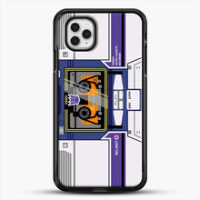 Load image into Gallery viewer, Soundwave iPhone 11 Pro Case, Black Rubber Case | JoeYellow.com