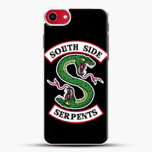 Load image into Gallery viewer, Southside Serpents iPhone 8 Case, White Plastic Case | JoeYellow.com