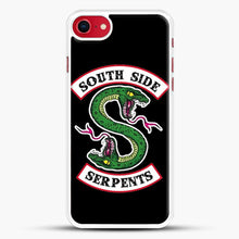 Load image into Gallery viewer, Southside Serpents iPhone 8 Case, White Rubber Case | JoeYellow.com