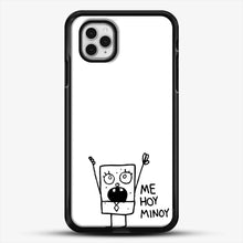 Load image into Gallery viewer, Spongebob Doodlebob iPhone 11 Pro Case, Black Rubber Case | JoeYellow.com