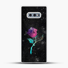 Load image into Gallery viewer, Stained Glass Rose Galaxy Samsung Galaxy S10e Case