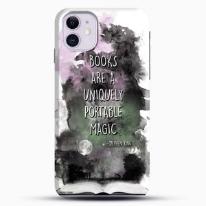 Stephen King White Background iPhone 11 Case