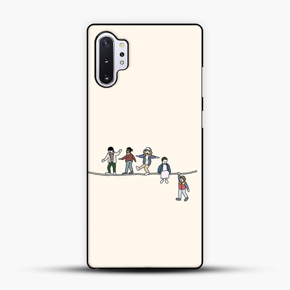 Stranger Things The Acrobats And The Fleas Samsung Galaxy Note 10 Plus Case