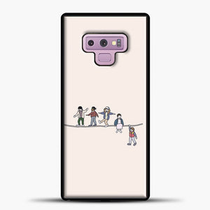 Stranger Things The Acrobats And The Fleas Samsung Galaxy Note 9 Case