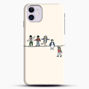 Stranger Things The Acrobats And The Fleas iPhone 11 Case, Black Snap 3D Case | JoeYellow.com