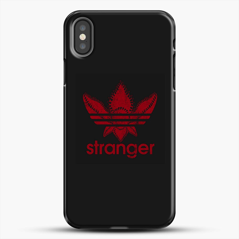 Stranger Things iPhone X Case, Black Plastic Case | JoeYellow.com