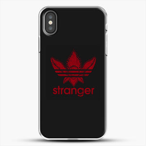 Stranger Things iPhone X Case, White Plastic Case | JoeYellow.com