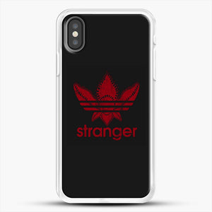 Stranger Things iPhone X Case, White Rubber Case | JoeYellow.com
