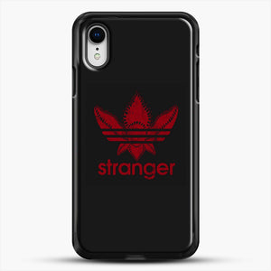 Stranger Things iPhone XR Case, Black Rubber Case | JoeYellow.com