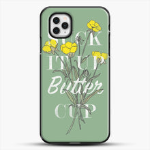 Load image into Gallery viewer, Suck It Up Buttercup iPhone 11 Pro Case, Black Plastic Case | JoeYellow.com