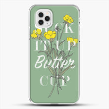 Load image into Gallery viewer, Suck It Up Buttercup iPhone 11 Pro Case, White Plastic Case | JoeYellow.com