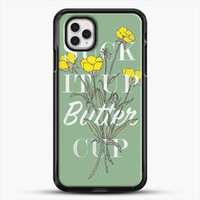 Load image into Gallery viewer, Suck It Up Buttercup iPhone 11 Pro Case, Black Rubber Case | JoeYellow.com